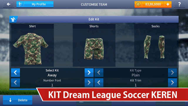 kit dream league soccer keren