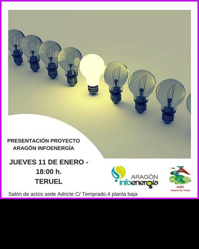 Presentación del Proyecto Aragón Infoenergía
