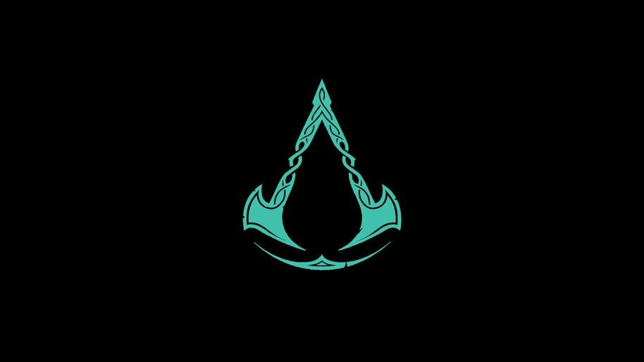 Assassins Creed Valhalla, Logo, 4K, #3.1677