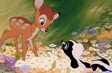 Bambi Charaktere