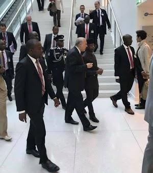 Vice President Osinbajo Visits Paris for Anti-Corruption Forum ( See photos)