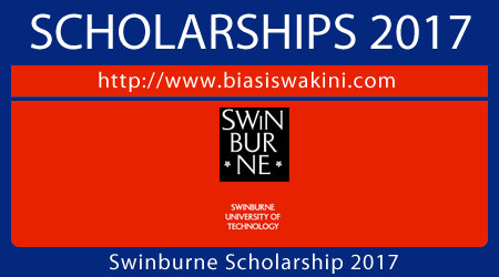Swinburne Scholarship 2017