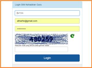 Login DHGTK Online Aplikasi Dapodikdasmen 2018.b