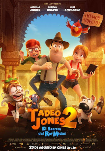 Tadeo Jones 2: El secreto del rey Midas (BRRip 720p Español Latino) (2017)