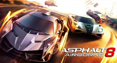 Asphalt 8 Airborne Apk Mod Unlock All races For Android