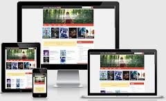 Download Anime Forest V2 Blogger Template Anime