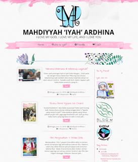 headr baru mahdiyyah.com cara buat hedaer cara tukar header
