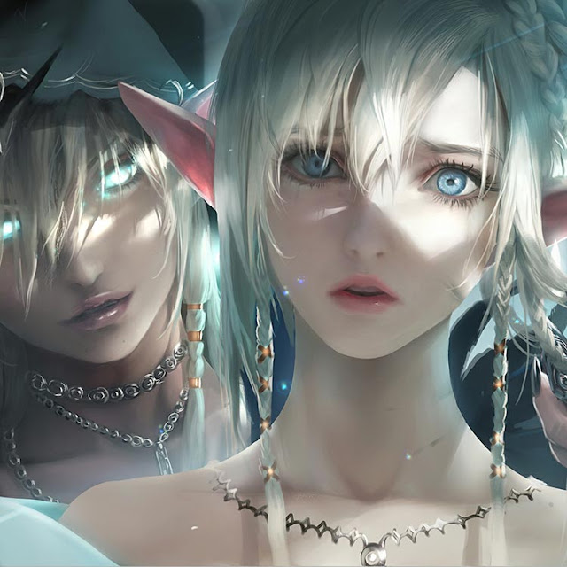 Sakimichan - Eyebrows Wallpaper Engine