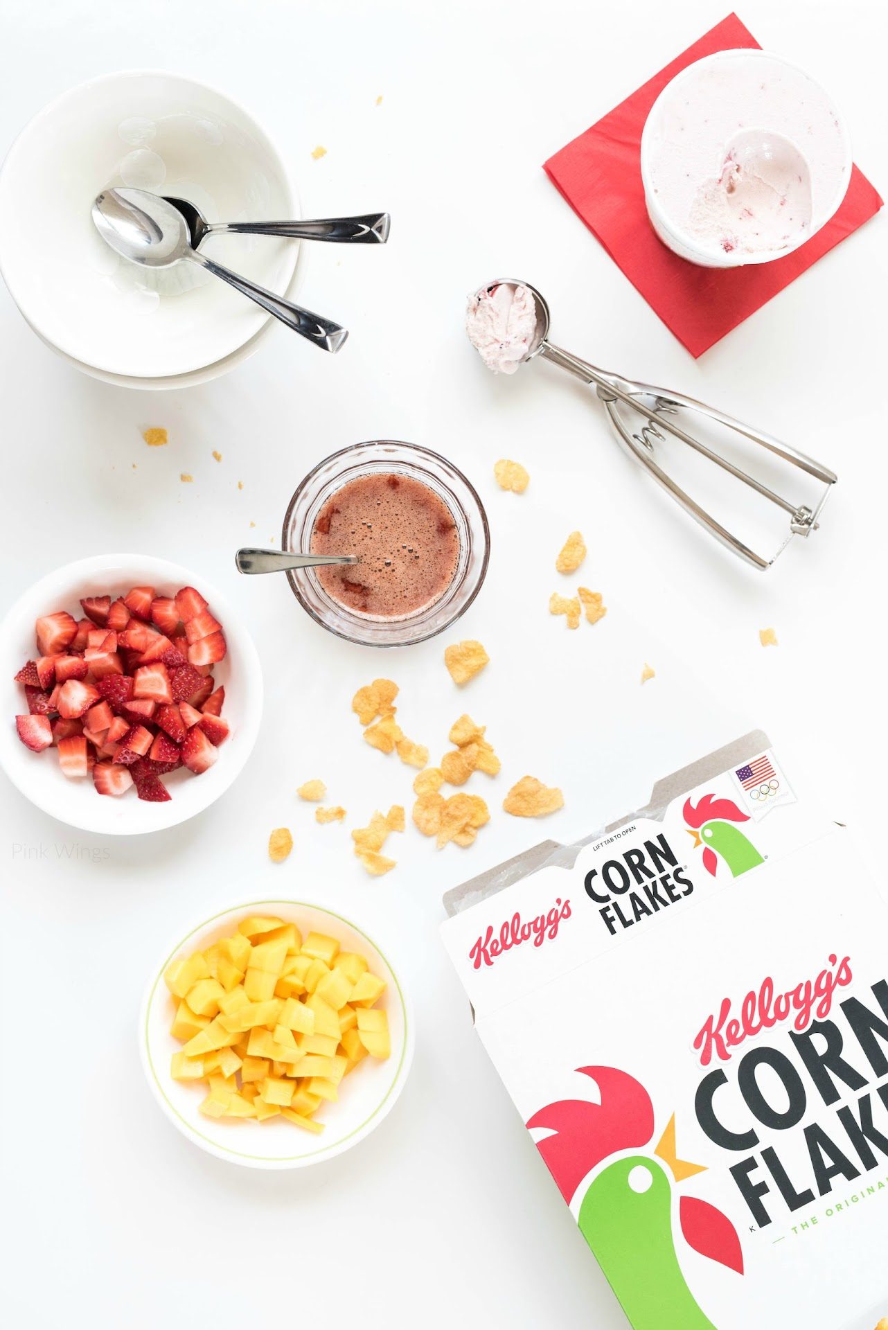 recipes with cereal, corn flakes, kellogg's, ingredients food photography, lds food blogger, mormon, asian food blog