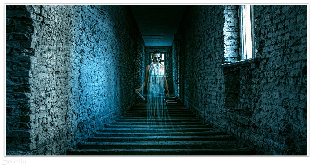 фотосессия привидение