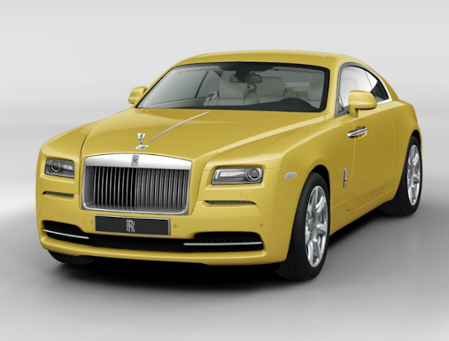 Rolls Royce Wraith 2015 Couleurs Colors