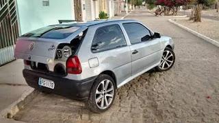 Carro é furtado na cidade de Cubati na noite deste sábado (08)