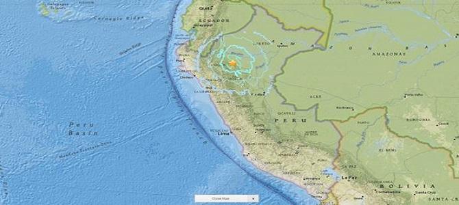 Terremoto de 6.1 sacude a Perú