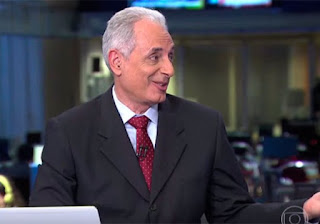 COMUNICADO DA GLOBO SOBRE A SAÍDA DE William Waack