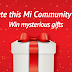 Complete survey to win mystery gifts