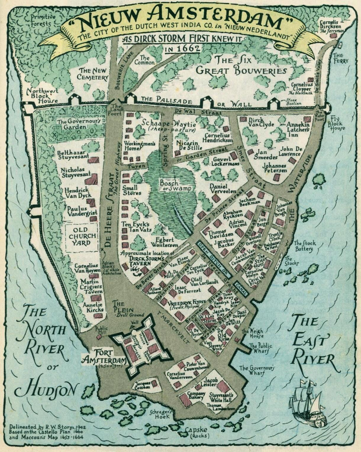New Amsterdam (1662)