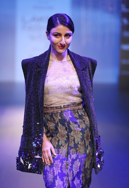 The Platform by smartwater unveils superb creations by three innovative designers at Lakmé Fashion Week Winter/Festive 2018