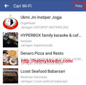 Menemukan lokasi wifi dengan aplikasi facebook5