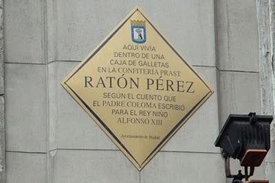 Placa Ratoncito Pérez