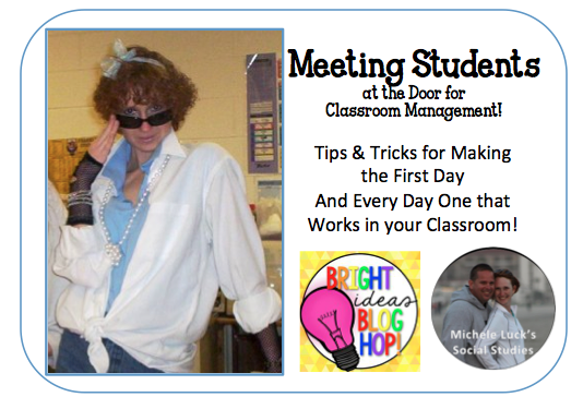 Tips and tricks for making the first day back to school one that helps set the stage for classroom management