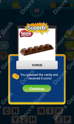 Answers, Cheats, Solutions for Guess the Candy Level 66 for android and iphone