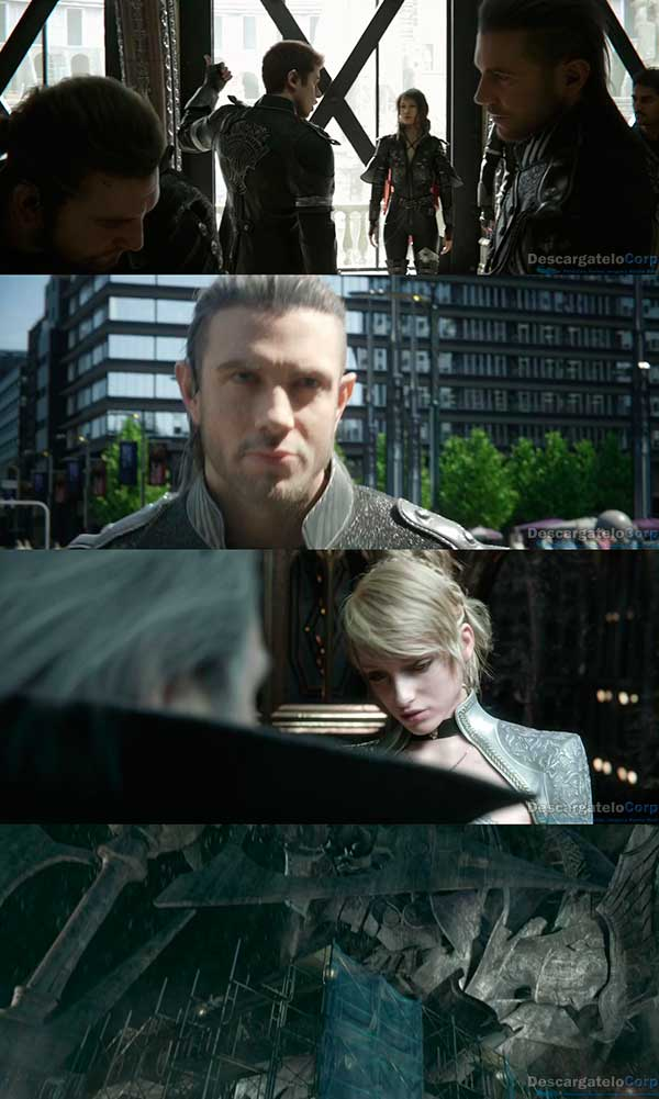 Kingsglaive Final Fantasy XV HD 720p Español Latino