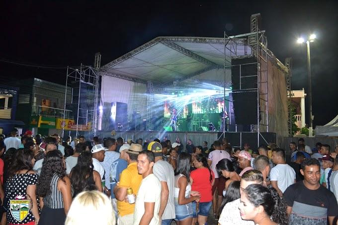 SÃO JOSÉ DOS RAMOS: Festa do Padroeiro de São José foi encerrado com show em praça pública.