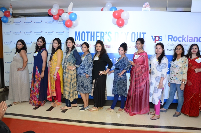 Participating mothers at the mothers day celebration