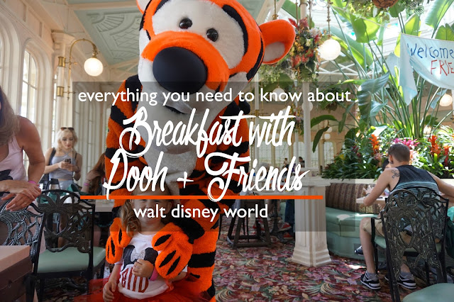 Breakfast with Pooh + Friends: The Crystal Palace at Walt Disney World Dining Review | CosmosMariners.com