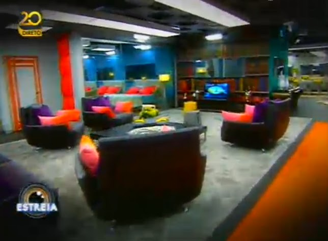 As primeiras imagens de dentro da casa do Big Brother VIP (video)