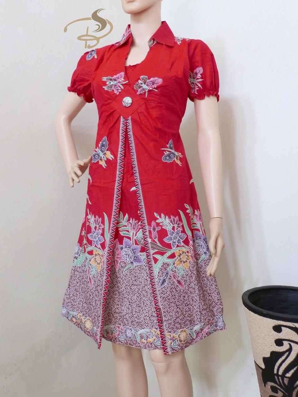 Contoh Desain Baju Batik Bagus | Klopdesain