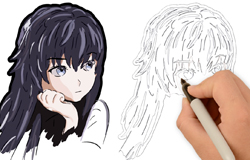anime character Drawing
