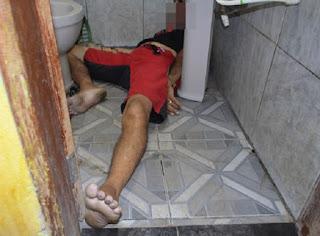 Homem é executado a bala em interior de banheiro de Bar neste domingo (01) na PB