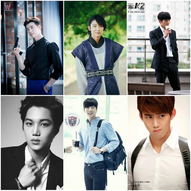 李鍾碩、李準基、池昌旭、朴海鎮、KAI、玉澤演 共同演出網路劇《六次初吻》