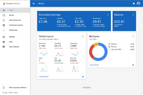 Meet the new AdSense user interface