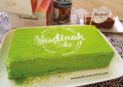 Madinah Cake, Sponge Cake dengan 5 Rasa Pilihan