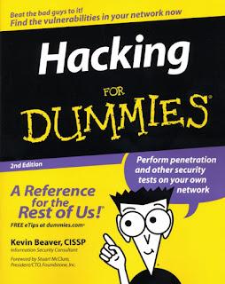 حمل كتاب Hacking for Dummies لتعلم الاختراق في نسخته الكاملة