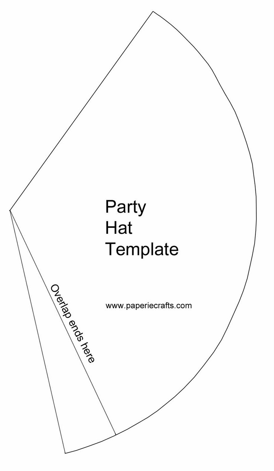 Party hat patterns free patterns for Dunce hat template