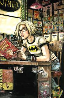 Comic Book Shop Sexy