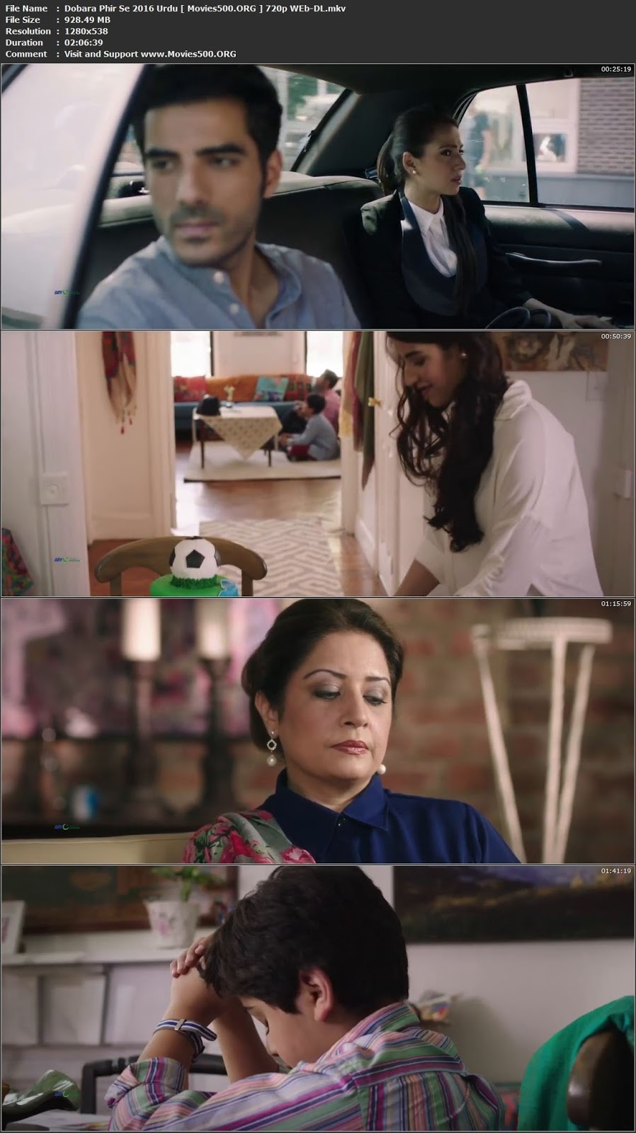 Dobara Phir Se 2016 Urdu Pakistani Download WEB DL 720p at movies500.info