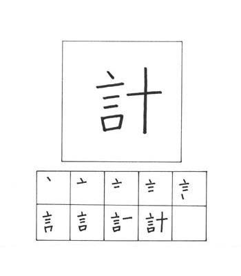 kanji rencana