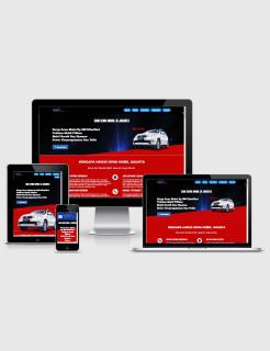 Rental Car Landing Page Builder Responsive