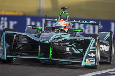 Nelson Piquet Jr Panasonic Jaguar Racing
