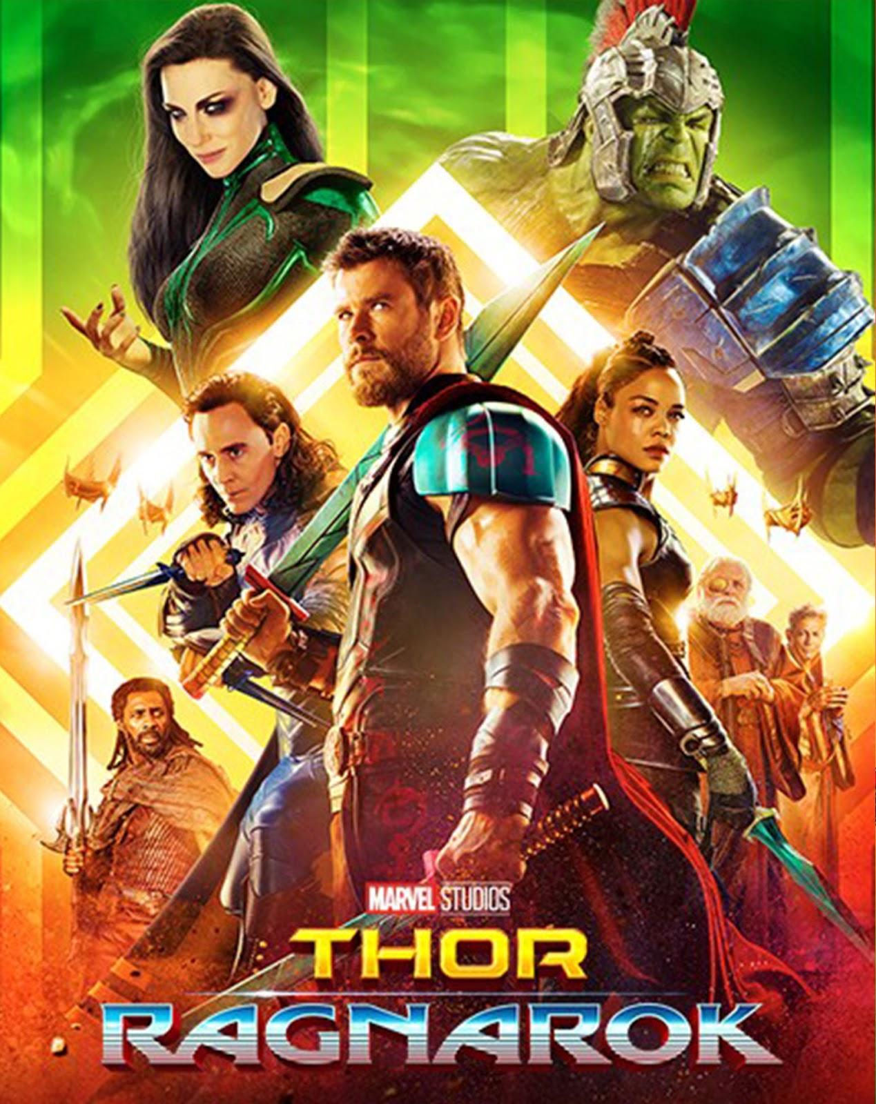 Thor: Ragnarok [2017] [DVDR] [NTSC] [Latino]