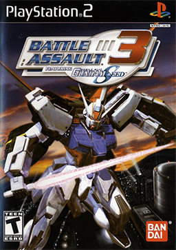 Battle Assault 3 featuring Gundam SEED PS2 GAME ISO