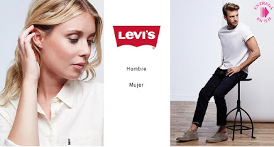 oferta levis hombre mujer