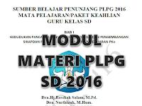 Download Materi PLPG 2016 Jenjang Sekolah Dasar Lengkap