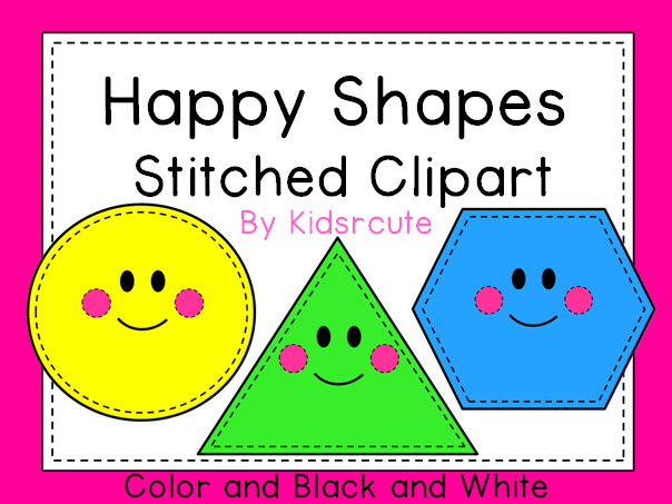 Creative Lesson Cafe: Shape Clipart- Monday Made It and a Giveaway