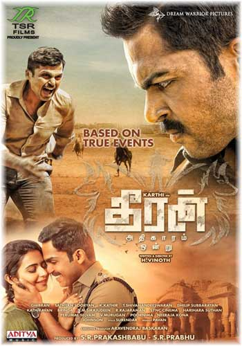 Theeran-Theeran Adhigaaram Ondru 2017 Hindi Dubbed HDRip 720p 500MB