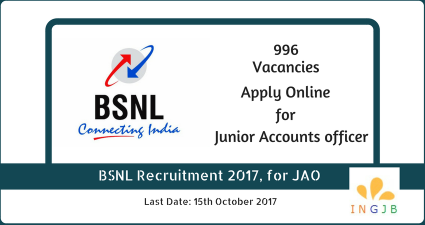 recruitment-jao-bsnl